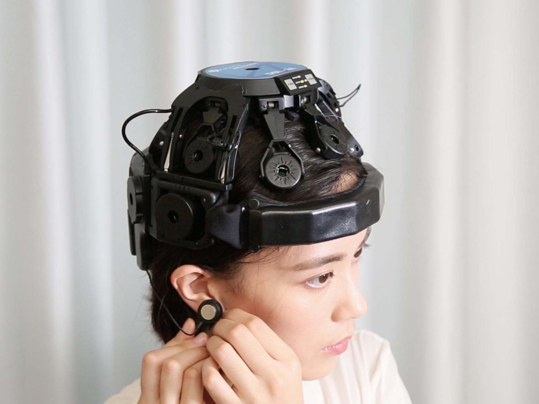 EEG-based brain-computer interface. Technology by Neuracle.