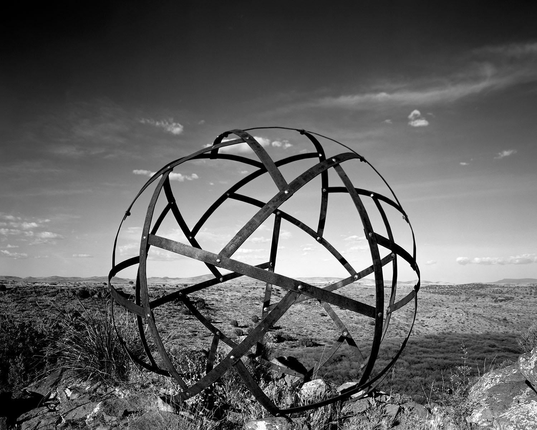 Arcosanti and Sphere Sculpture