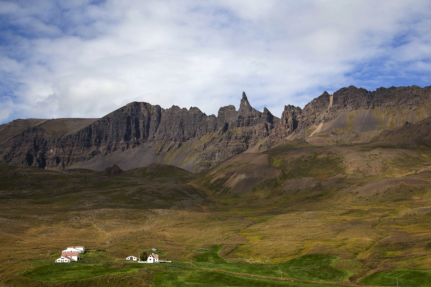 Iceland Route 1 view