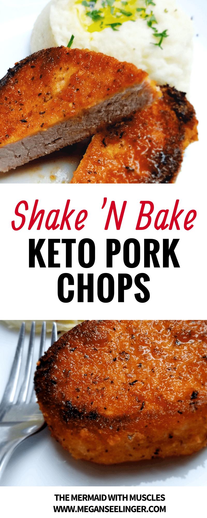 Shake'n bake keto pork chops