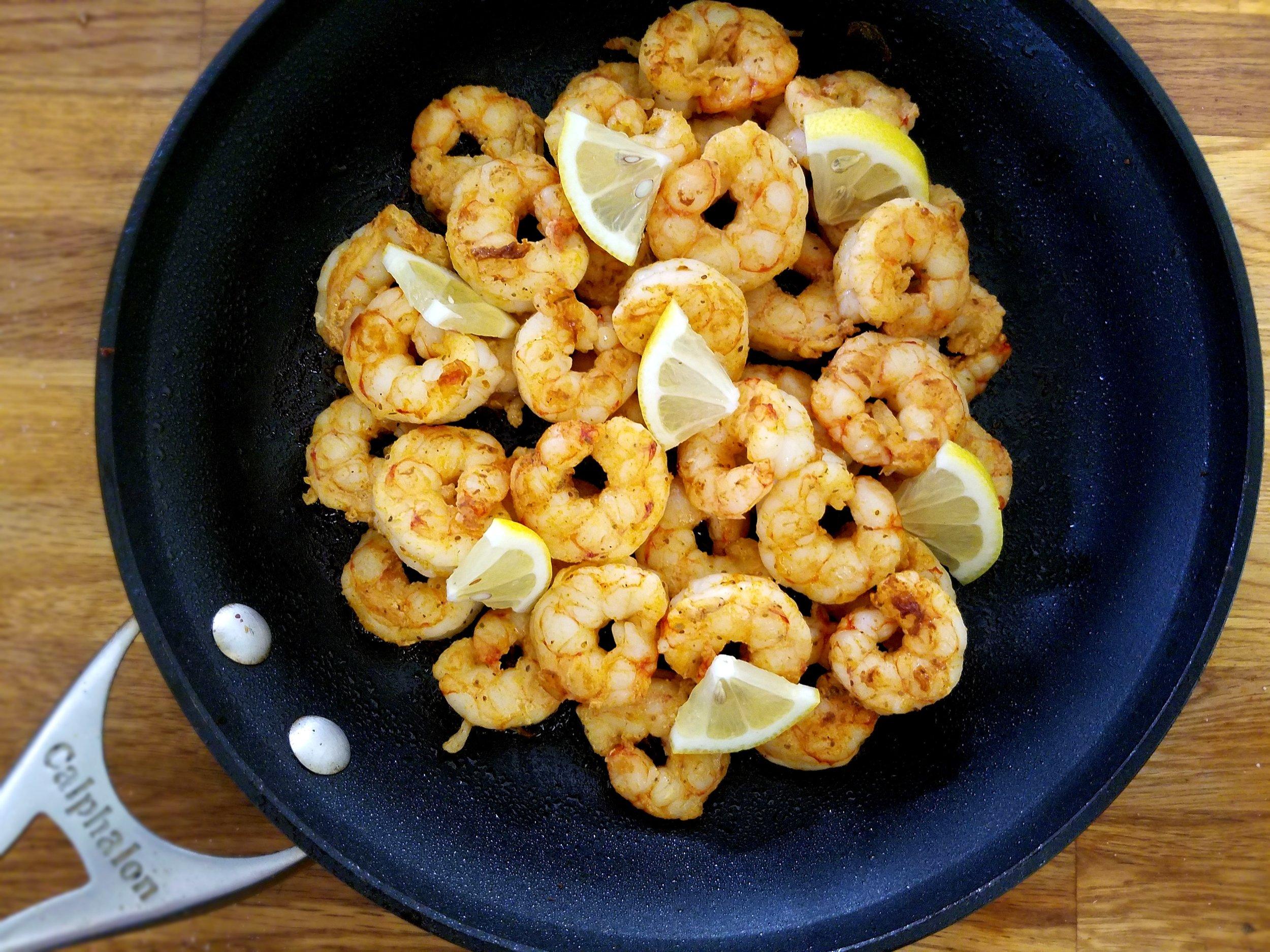 old bay keto shrimp