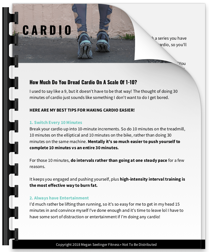 How to make Cardio easier