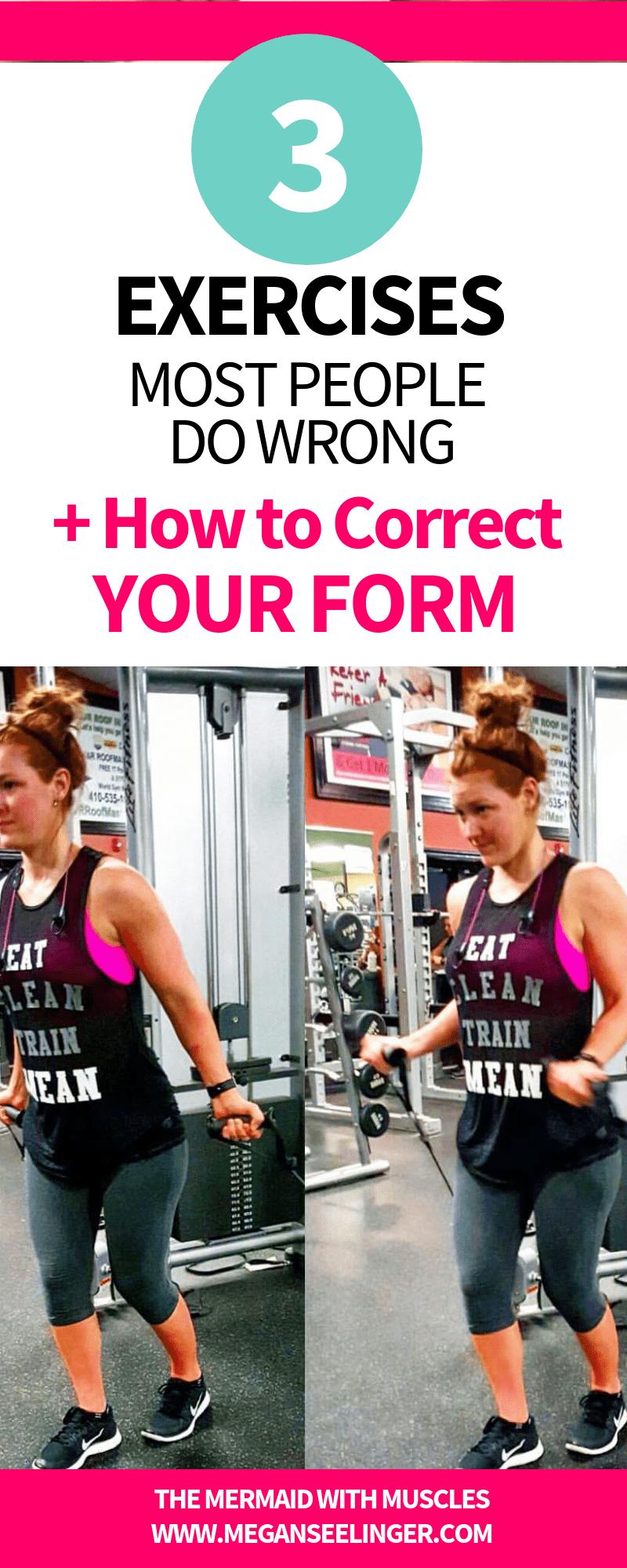 Proper exercise Form