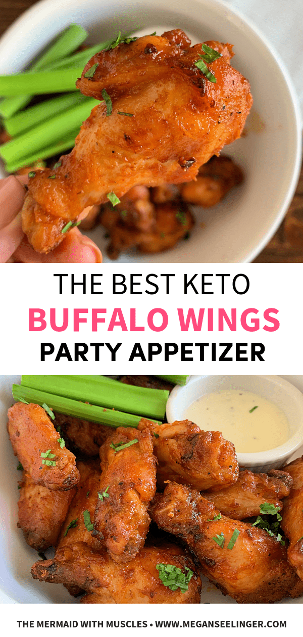 Easy Keto Instant Pot Buffalo Chicken Wings
