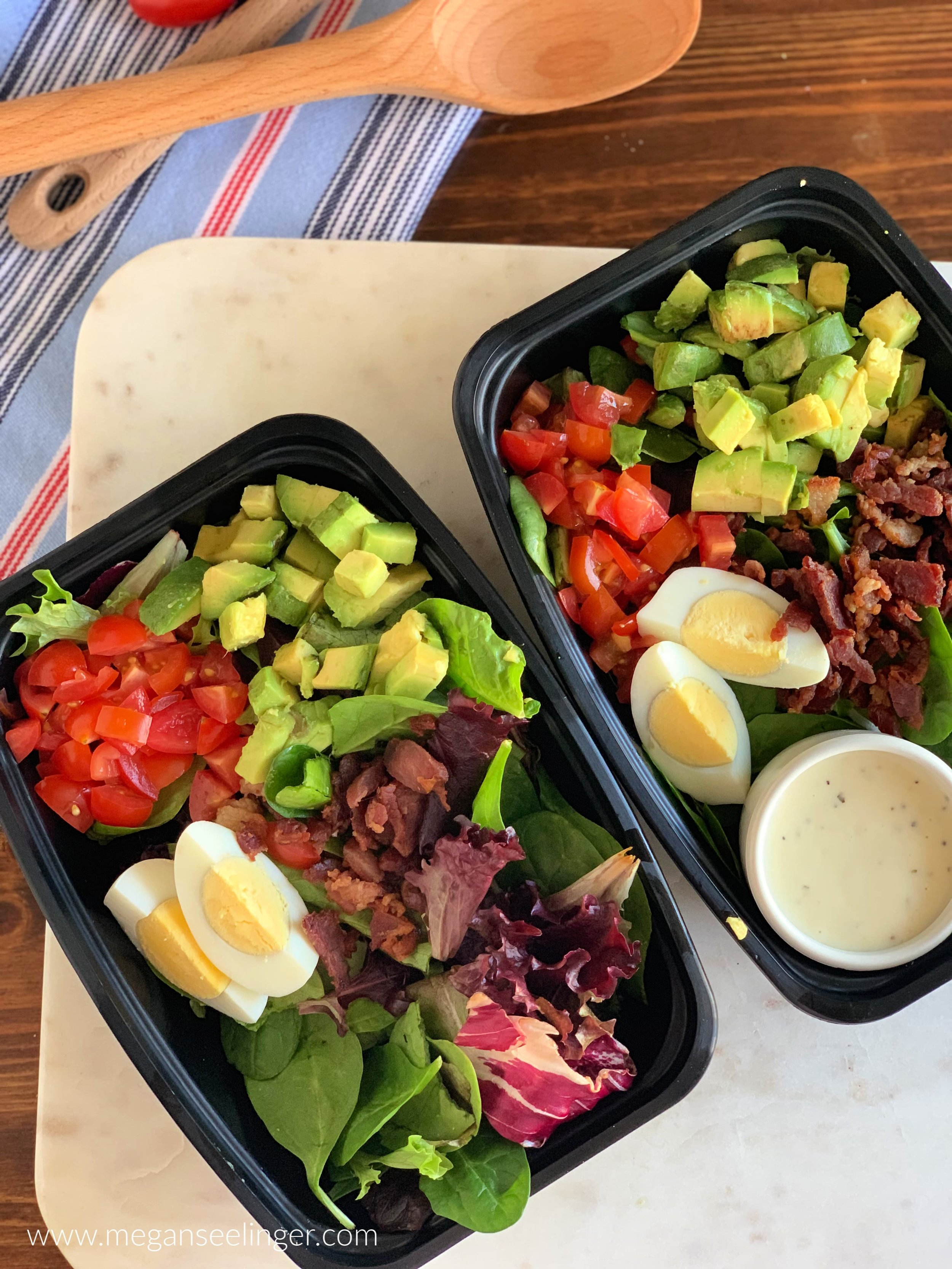 Keto Cobb Salad Recipe - Easy Low Carb Lunch Idea
