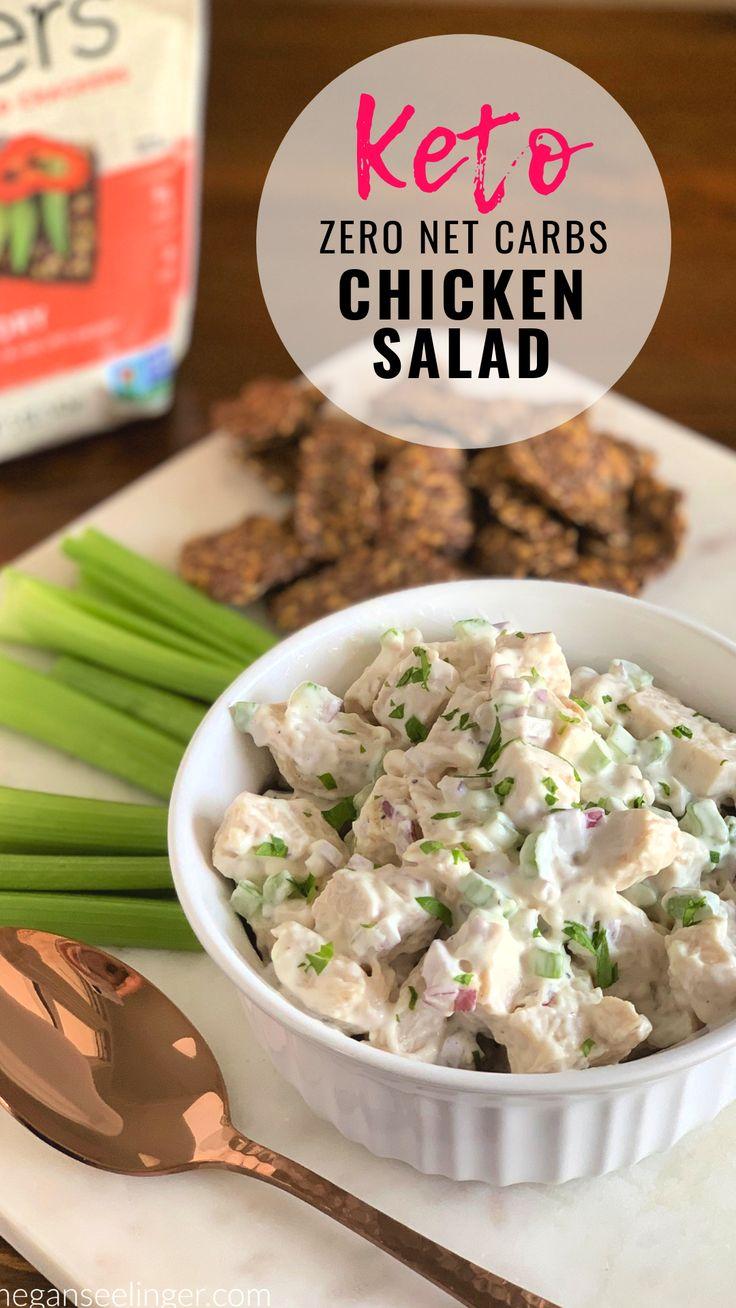 Keto Chicken Salad Rotisserie Canned And Leftover Chicken Recipes Megan Seelinger Women S