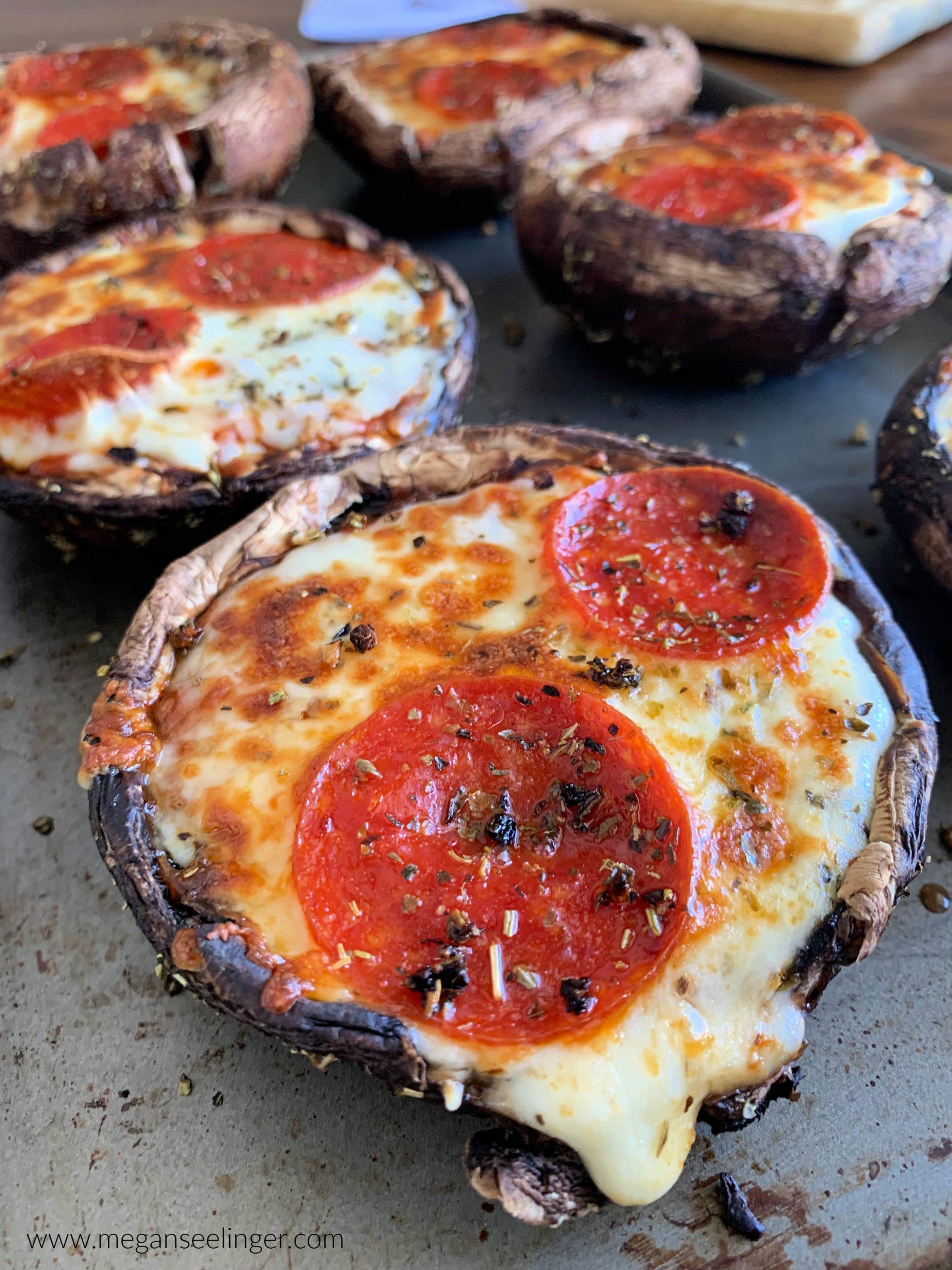 Keto Pizza Stuffed Portobello Mushroom Recipe