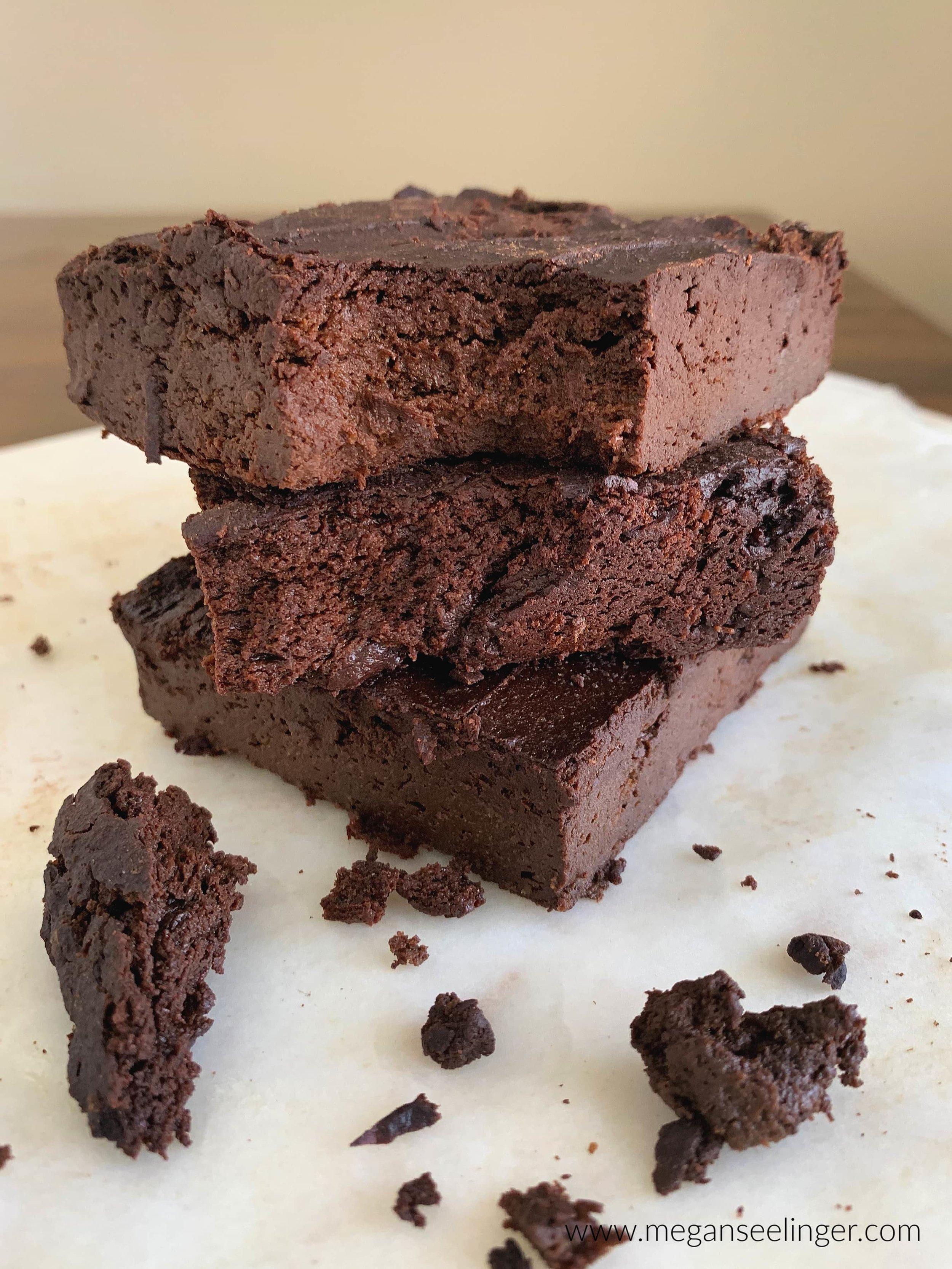 Easy Fudgy Keto Avocado Brownies- Flourless and Sugar-Free