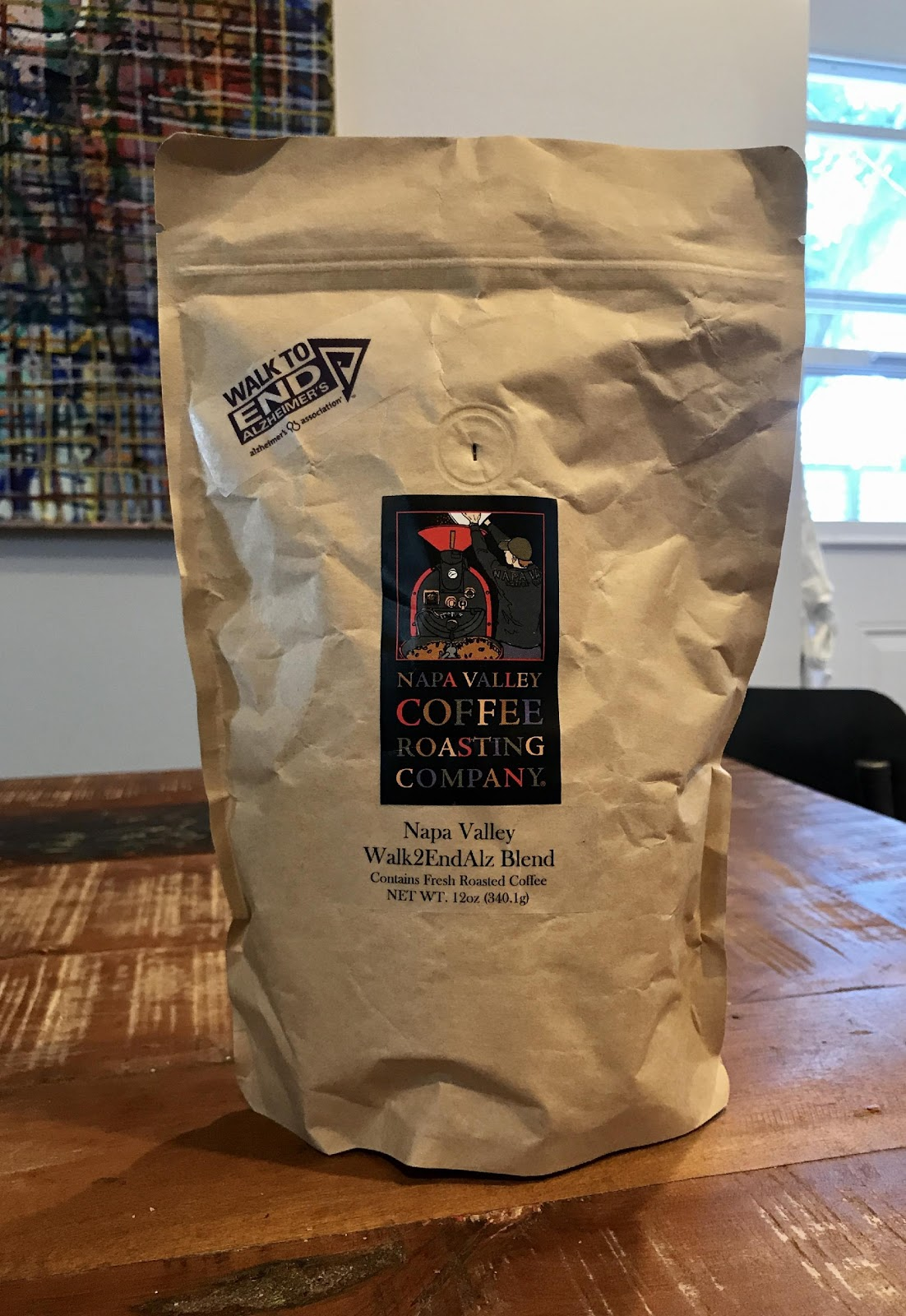 Walk2EndAlz Coffee Bag