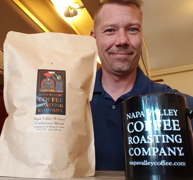 Come see Doug and have him grab you a bag of Napa Valley Writers' Conference Blend!