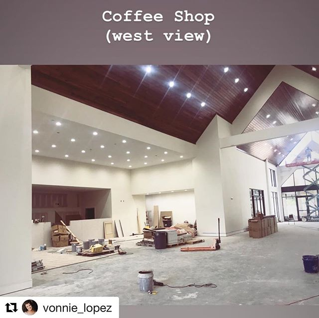 Coffee shop in Atrium at our Eastwood project! @vonnie_lopez What a space!!!