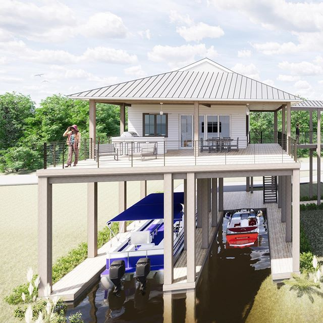 Just a little house on the river we've been working on!
