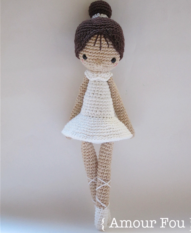 Crochet Amigurumi Doll Pattern, Crochet Little Doll, Amigurumi ... | 744x611