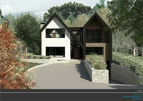 LP_CP_22 -  New build detached house esher