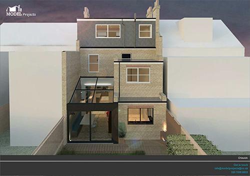 LP_CP_26 -  Rear Extension, West london