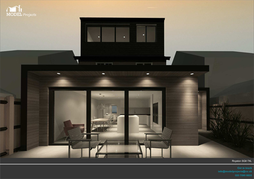 LP_CP_64  - rear extension and loft conversion