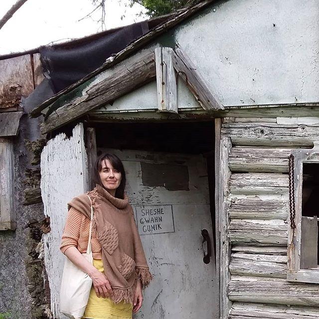Great Uncle Frank's cabin.. #miigwechGeneJaniceLennyBeatriceSheshegwaning