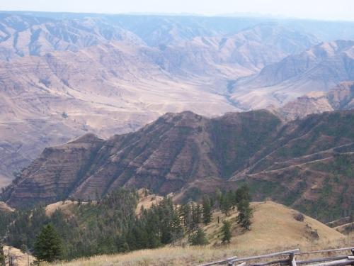 Nez Perce canyon country