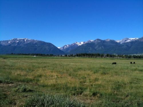 Wallowa Valley where Joseph (Thunder Rising)'s band lived
