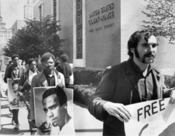CT activists demanding fair trials for Black Panthers