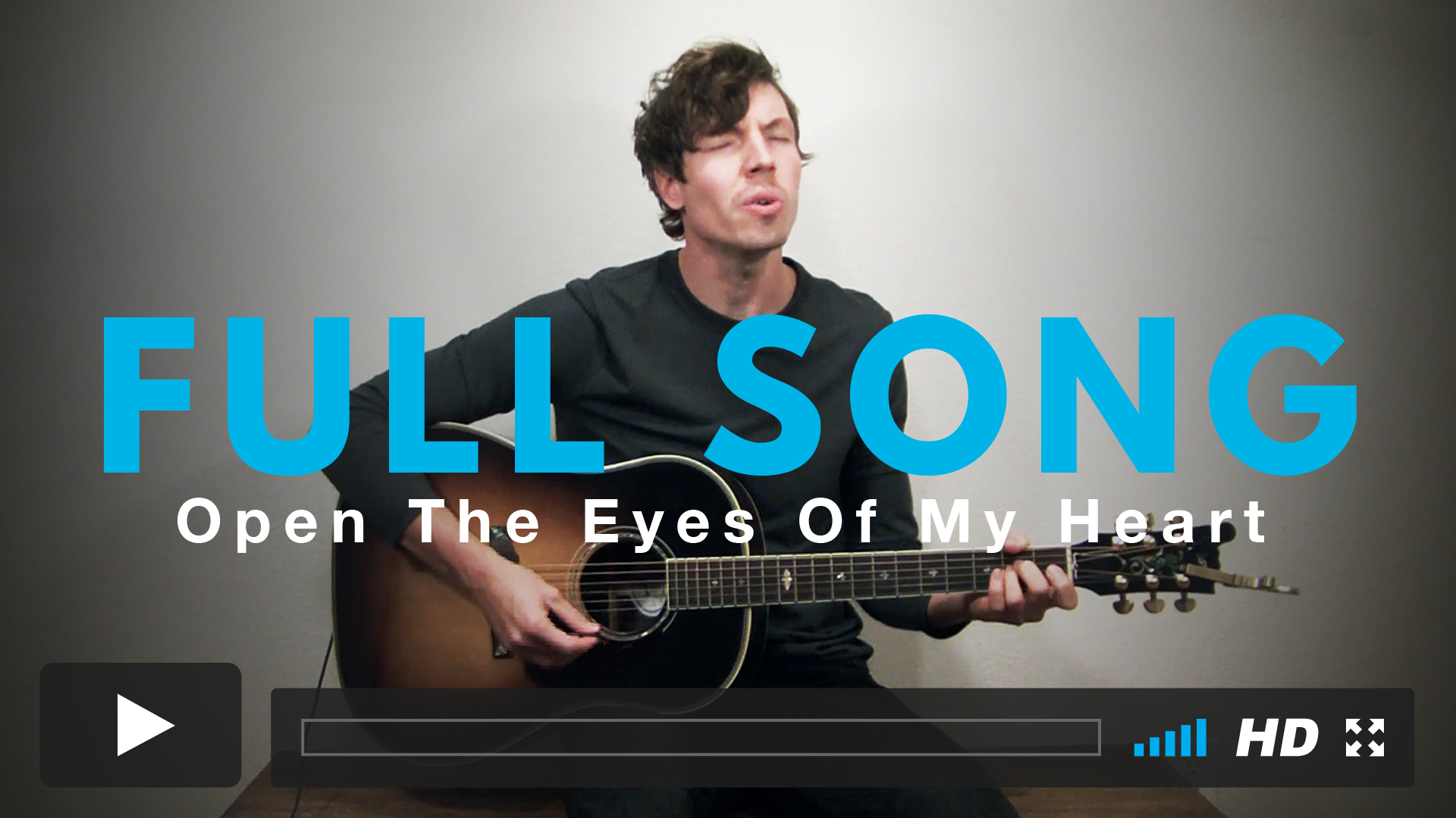 Play along with Jairus to the full version of Open The Eyes Of My Heart