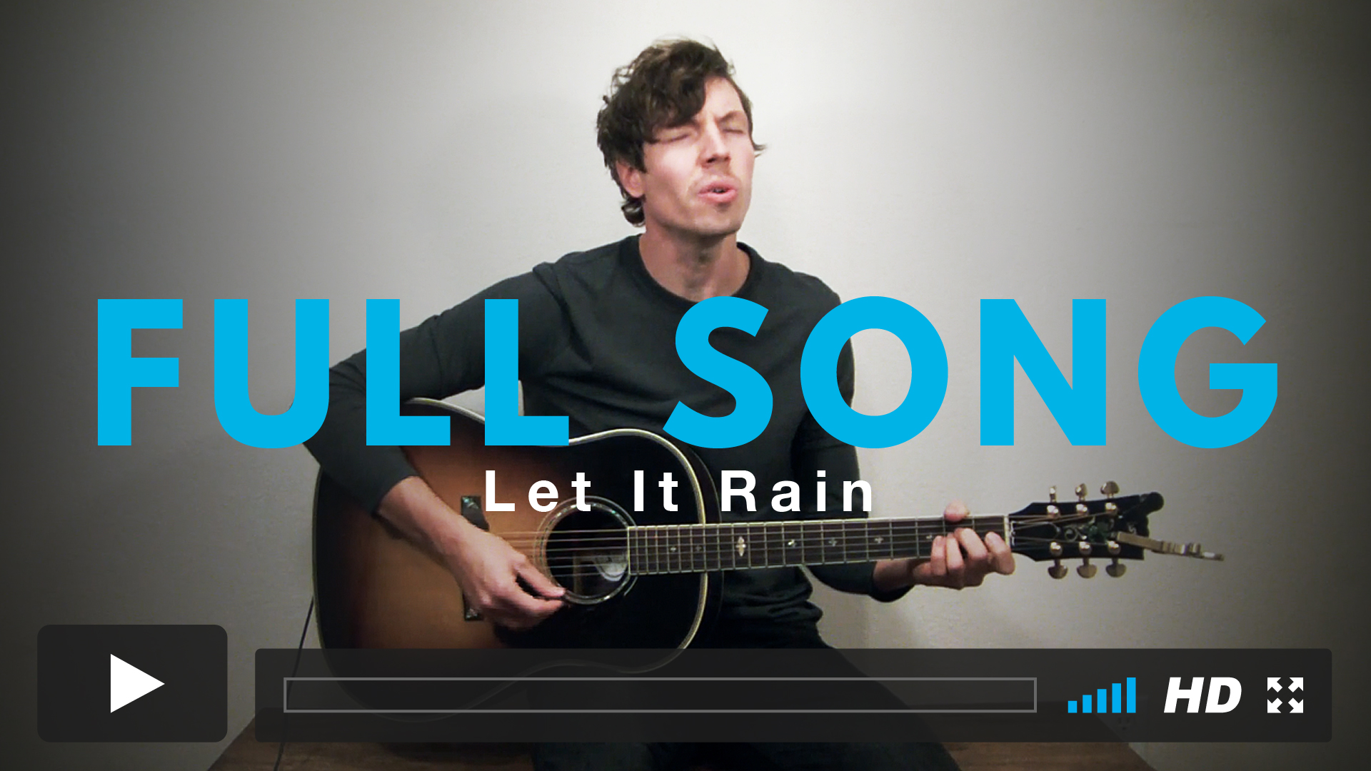Play along with Jairus to the full version of Let It Rain