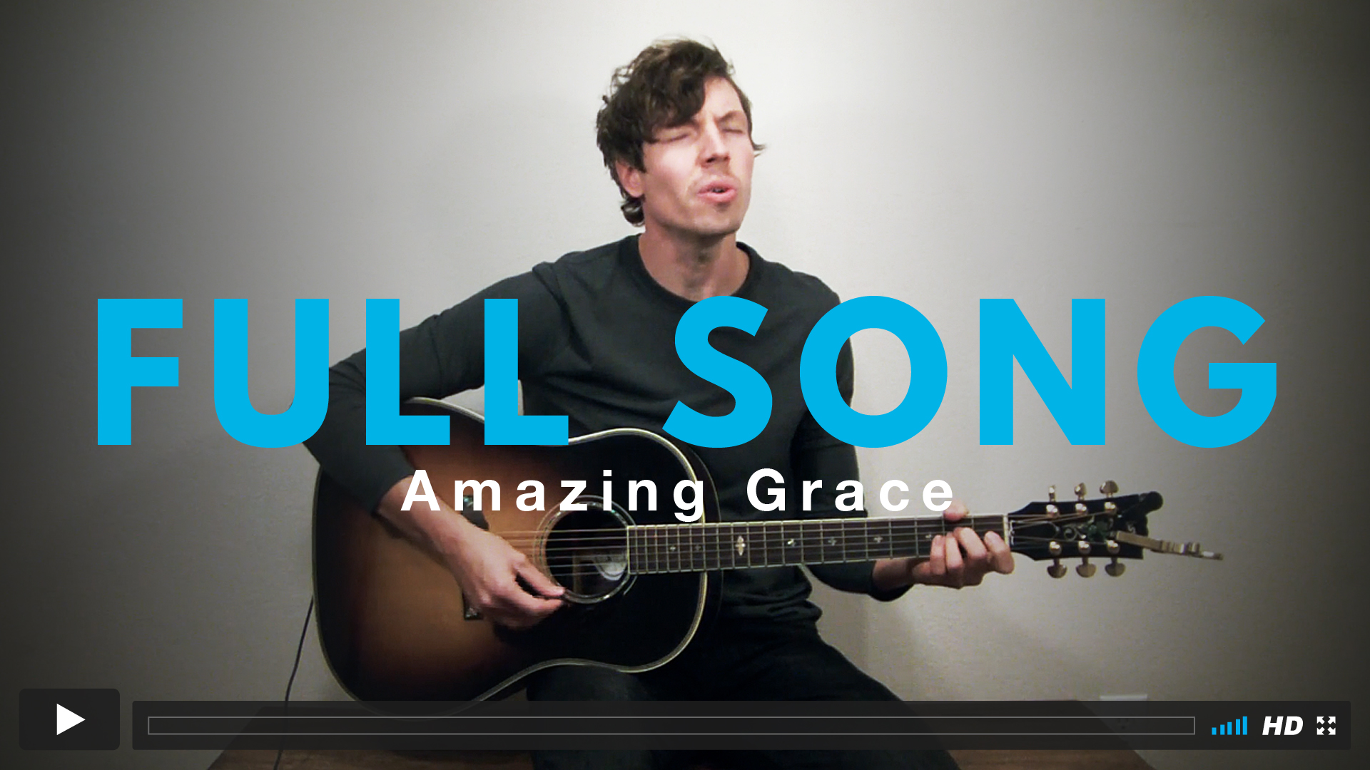 Play along with Jairus to the full version of Amazing Grace!