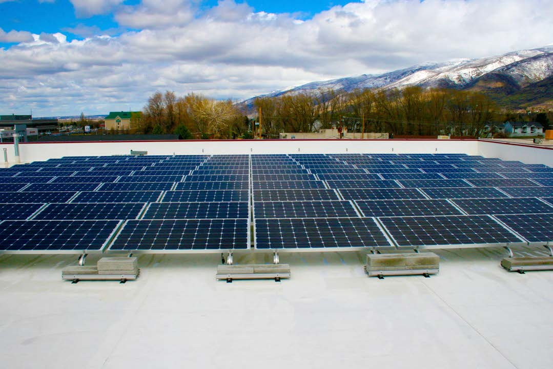 Flooring America   112 panels installed 28kW generated per month  $450 saved per month