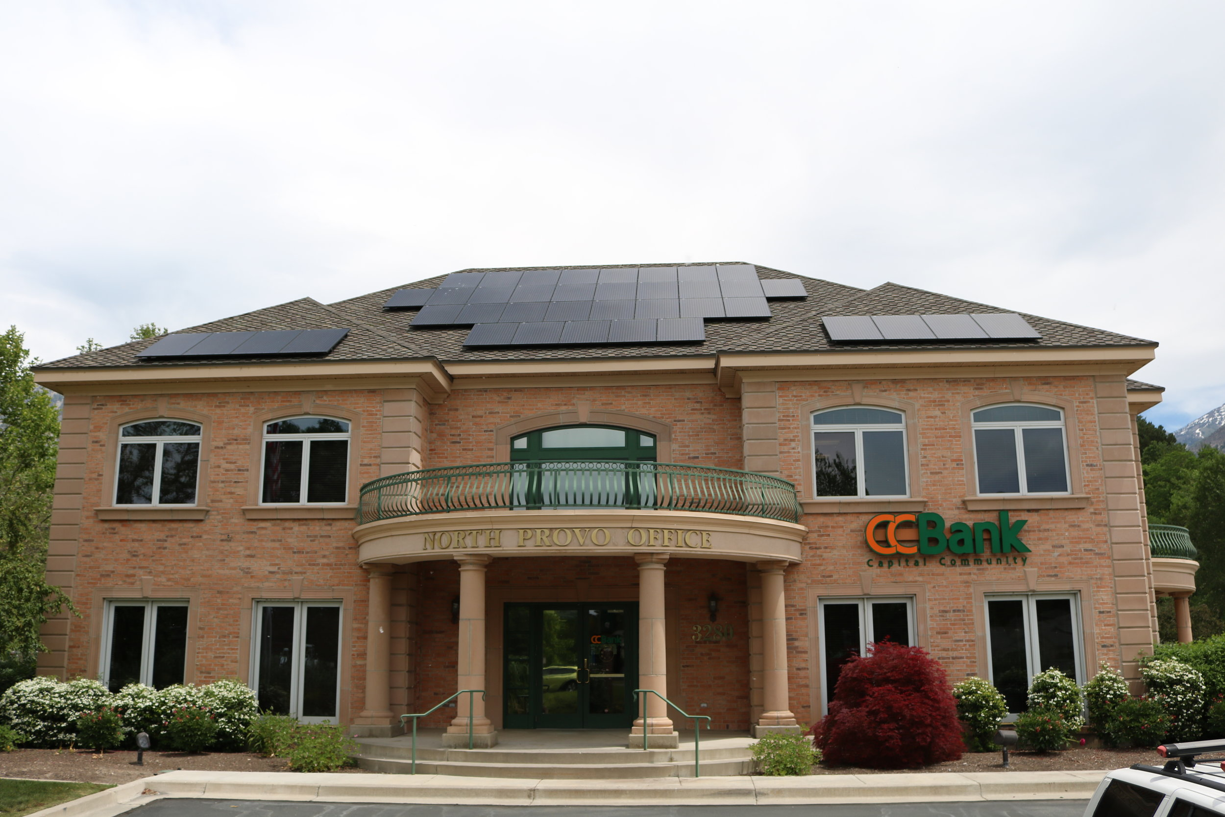 CCB Provo   68 panels installed 18kW generated per month  $197.40 saved per month