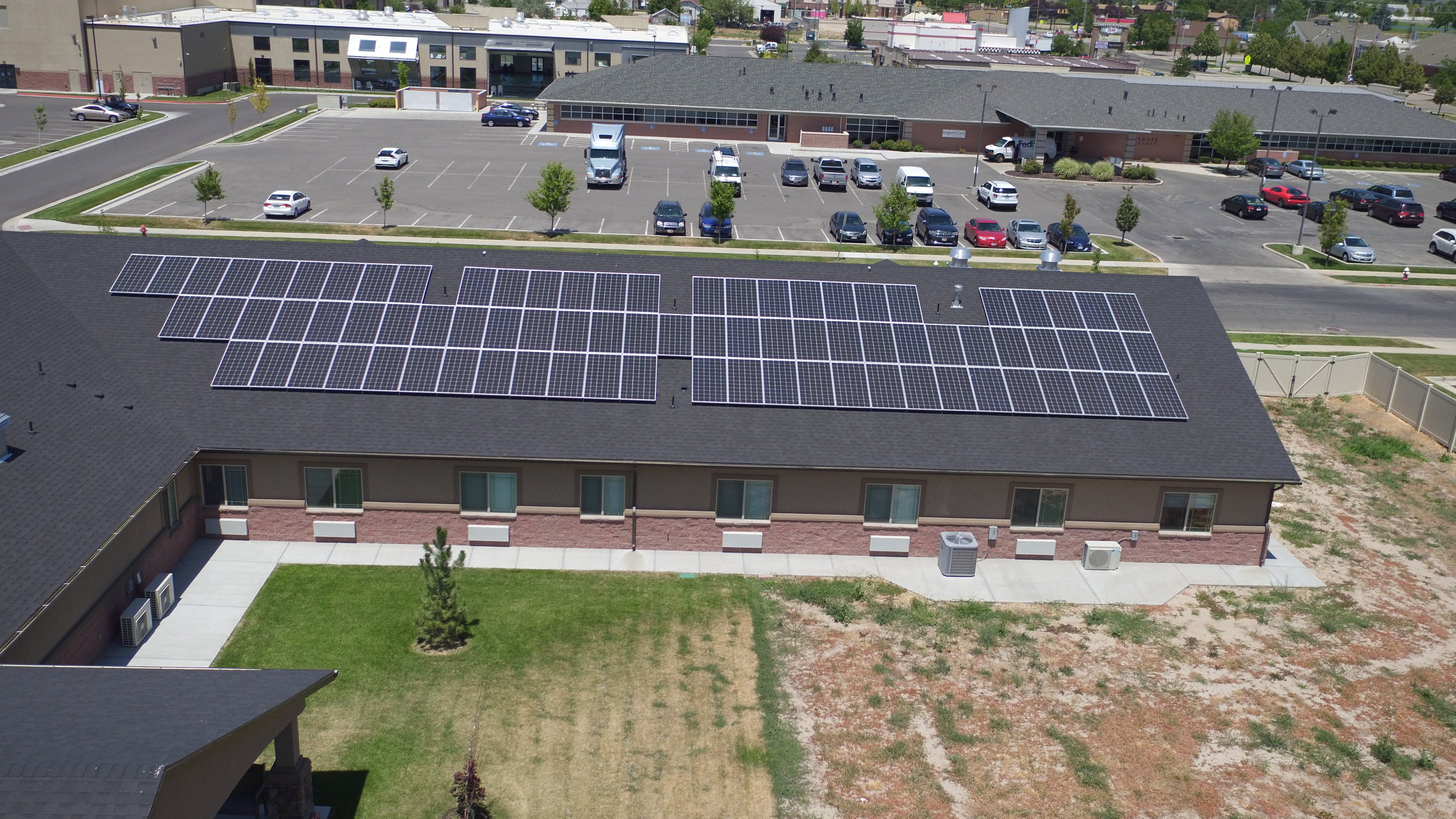 Raintree   111 panels installed 36kW generated per month  $606.16 saved per month