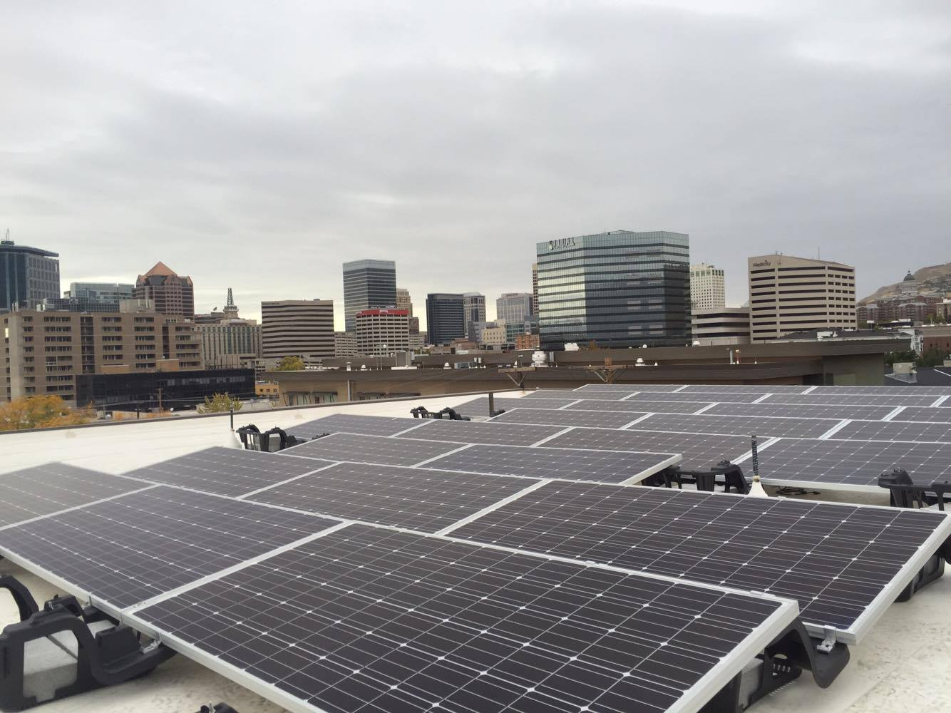 YWCA   160 panels installed 54kW generated per month  $312.59 saved per month