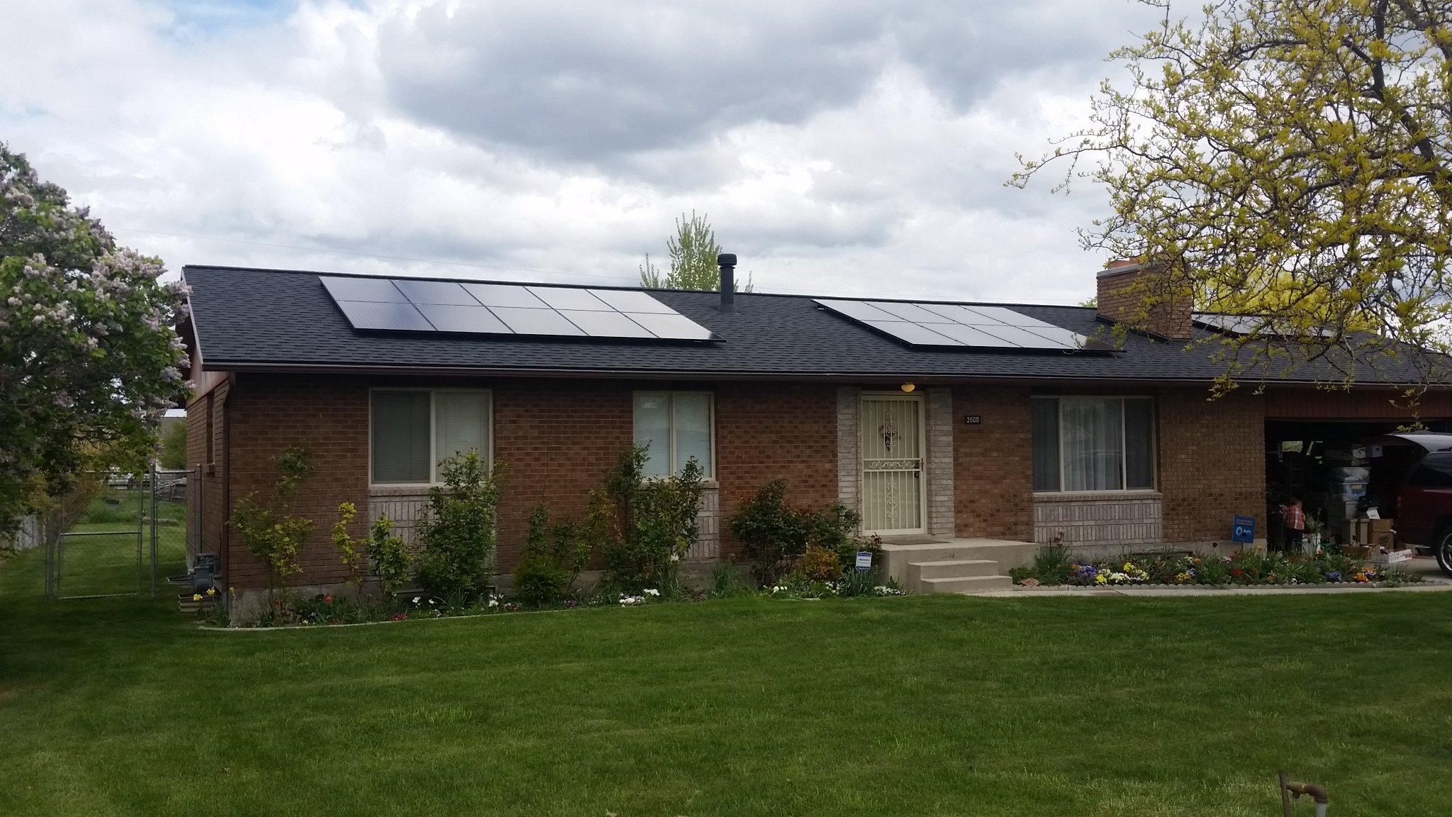 21 panels installed 6kW generated per month  $81.32 saved per month