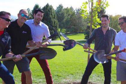 Tree Planting w/ the Property Brothers