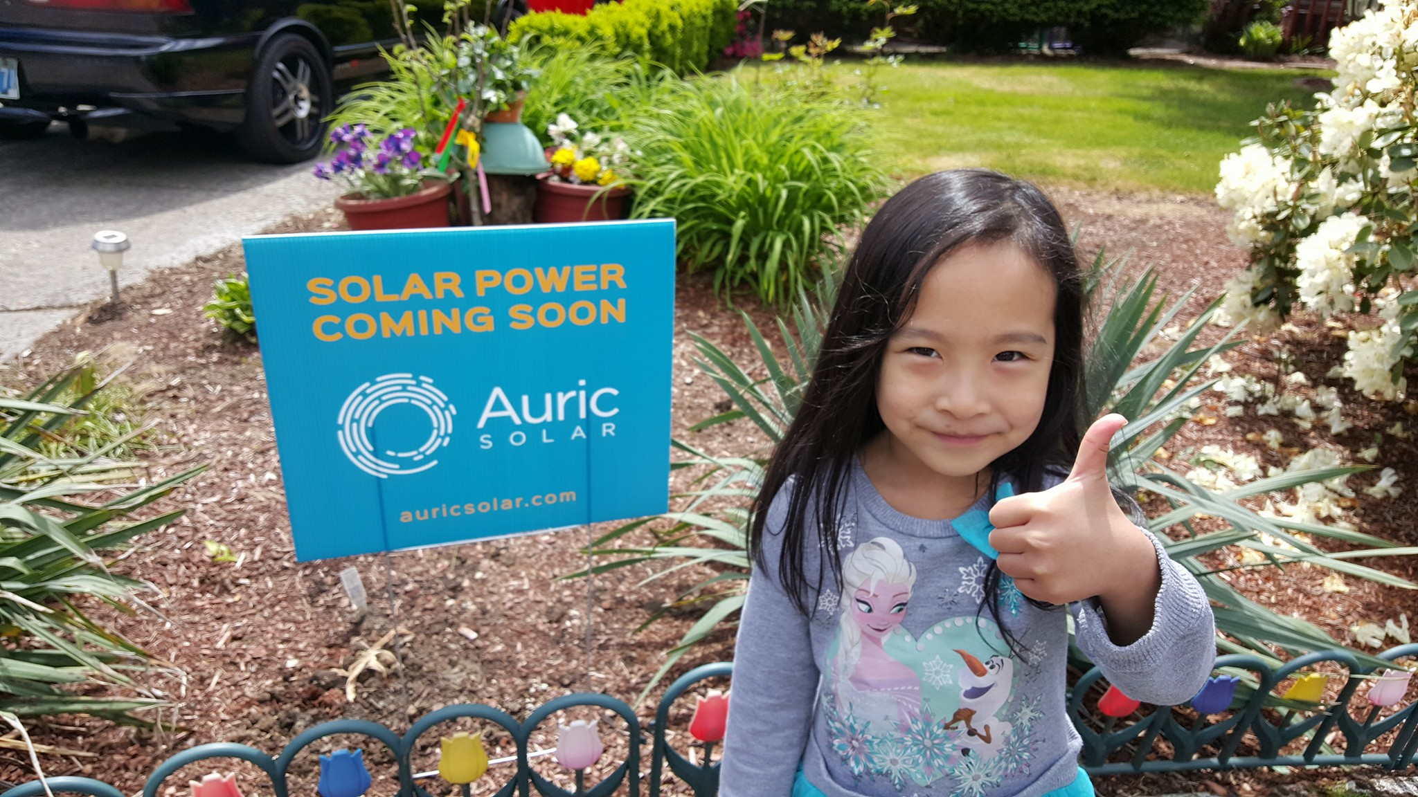 *Award Winning Customer Service - Auric is the most positively reviewed solar company in the United States.*left