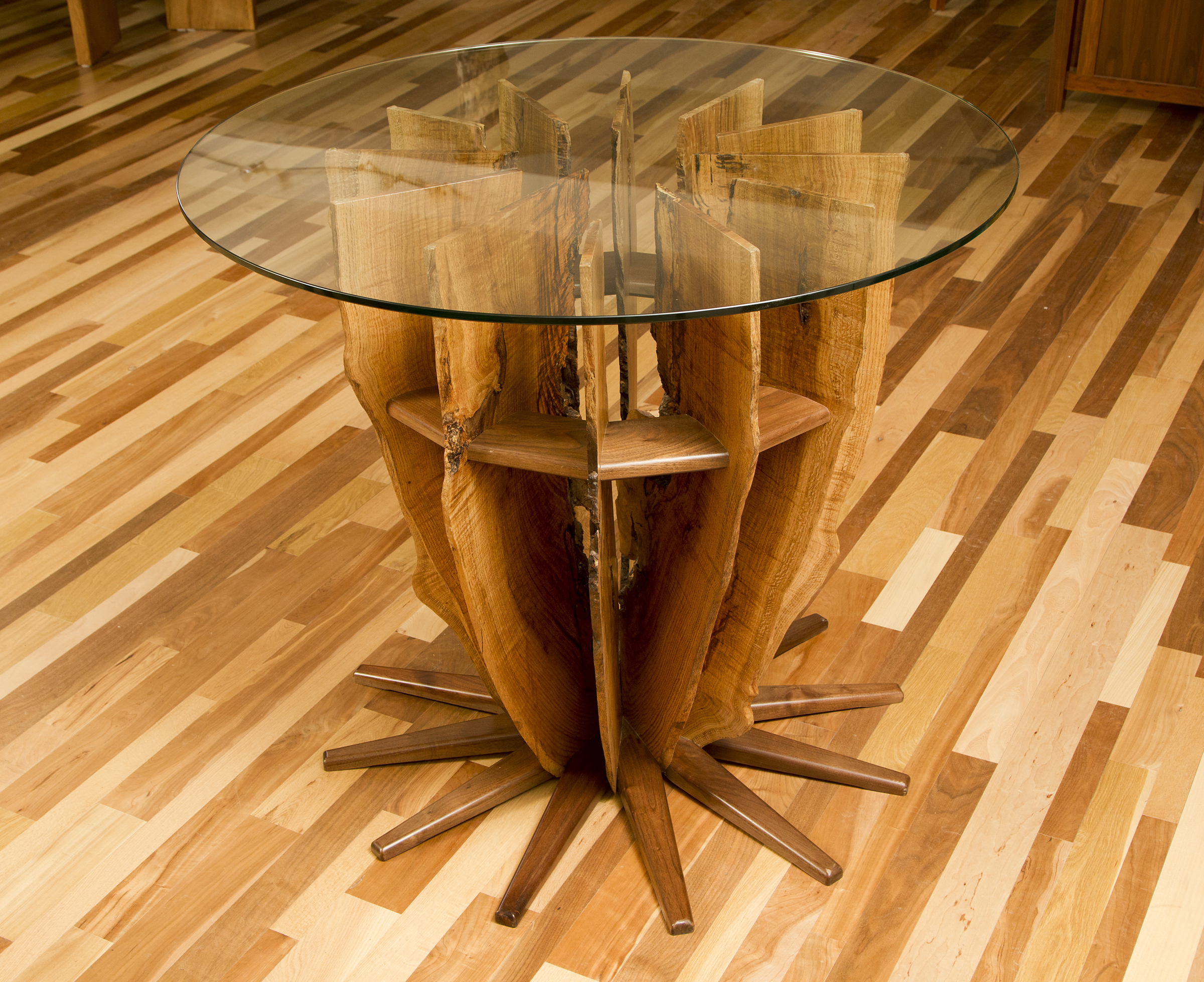 White Oak Pub Table