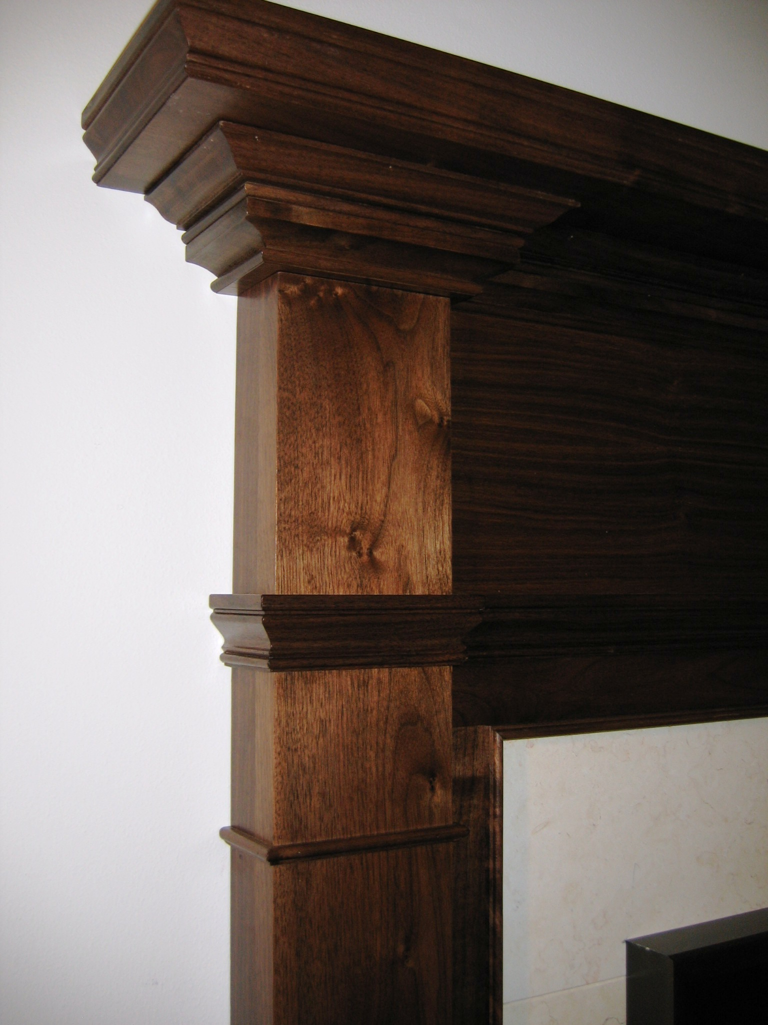 Walnut Mantle
