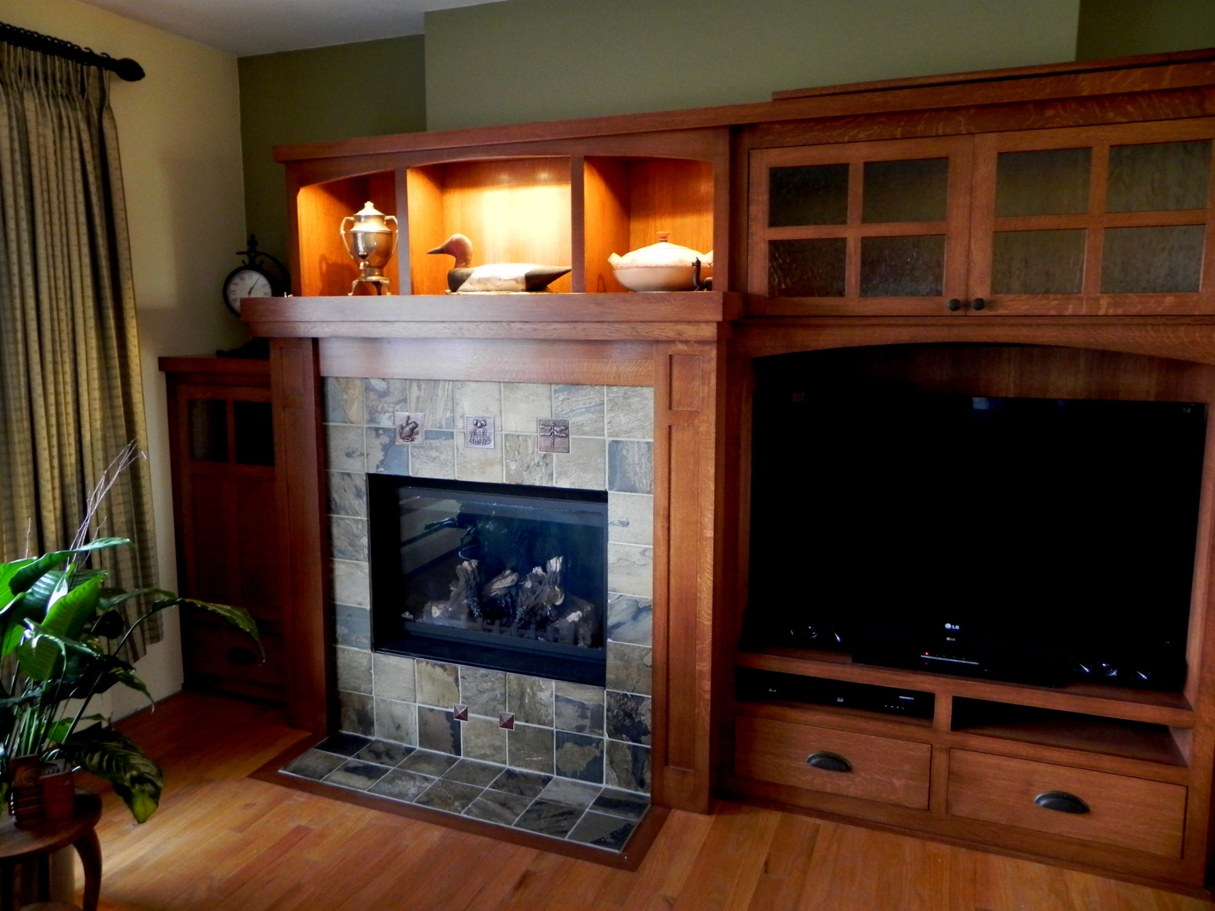White Oak Surround