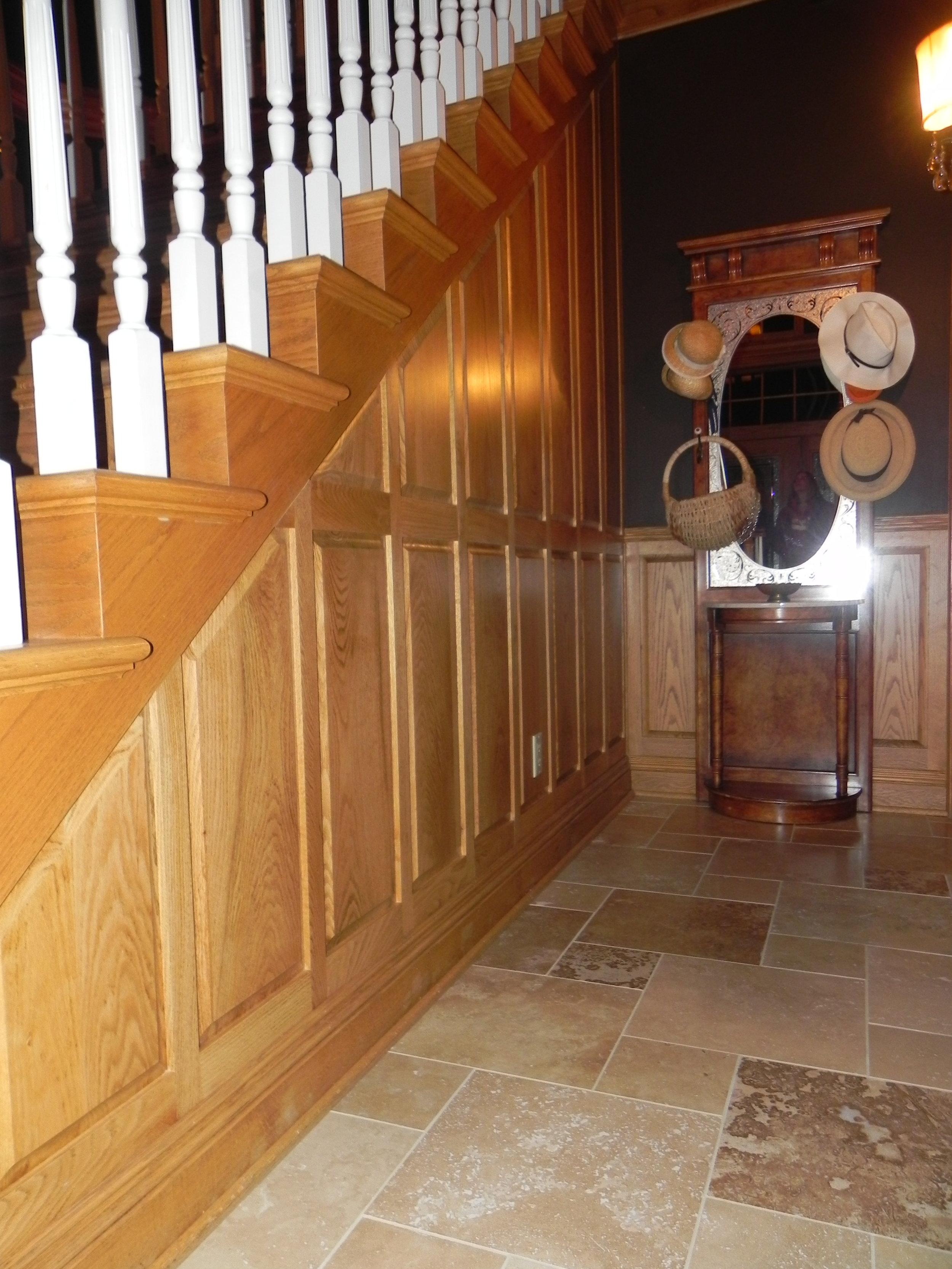 Paneled stair walls.JPG