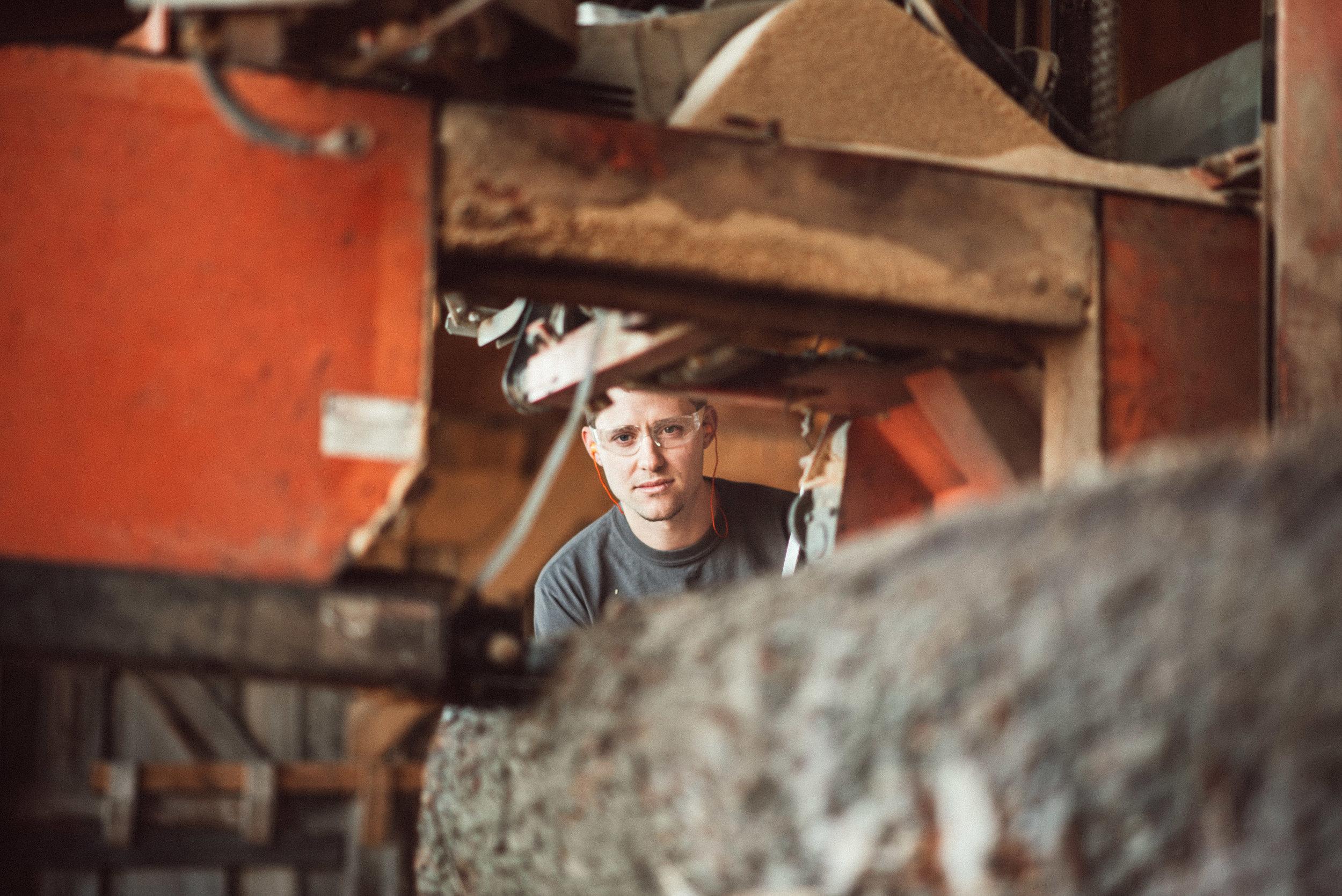 Wisconsin urban wood producer