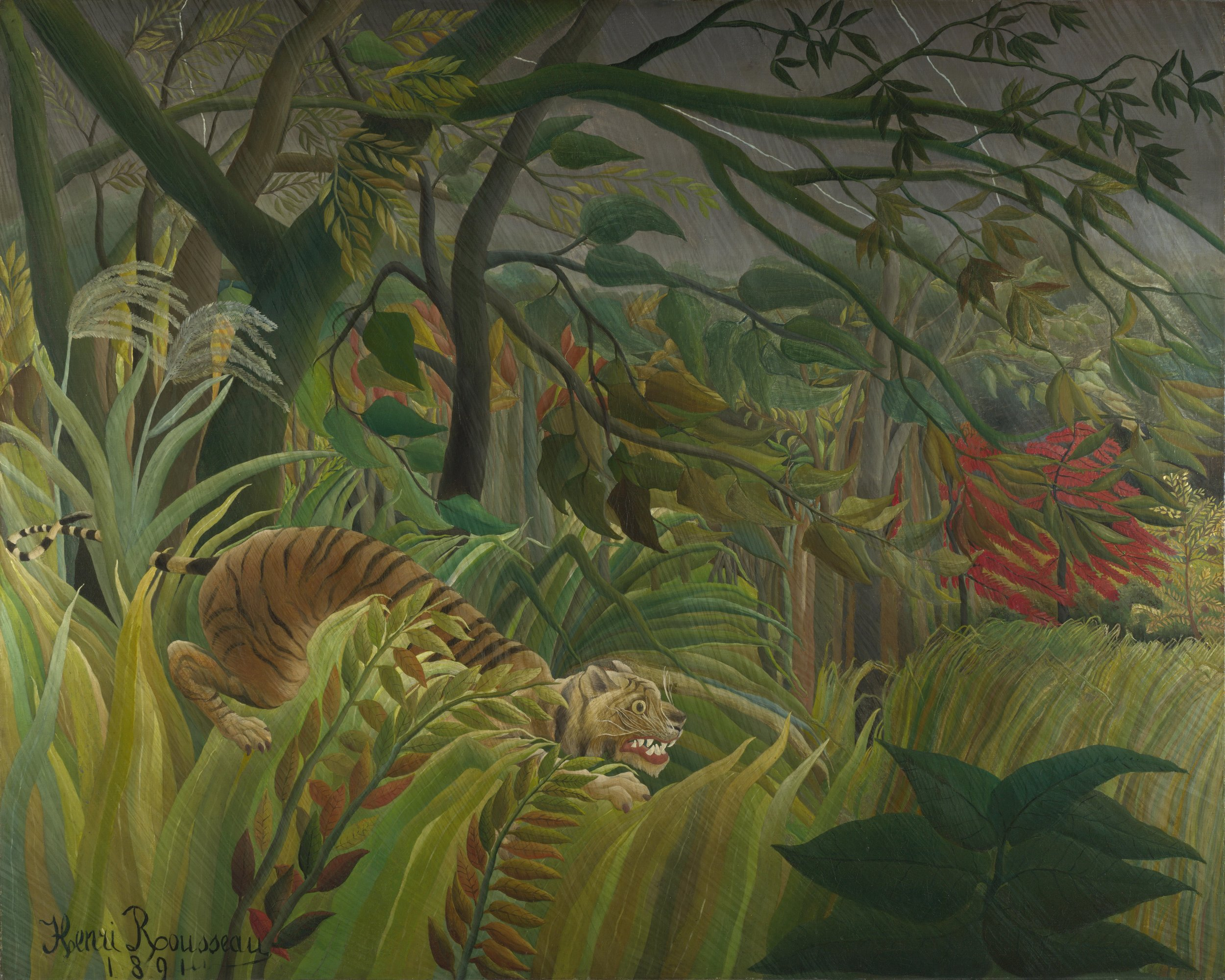 Surprise!, Henri Rousseau