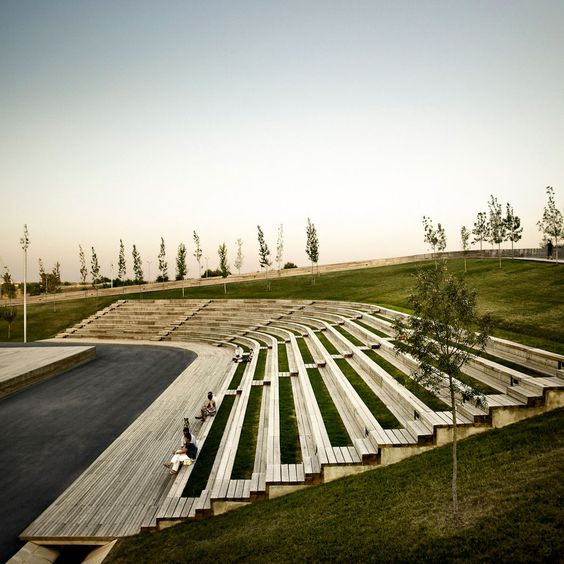 Outdoor Performing Spaces Along The Trail