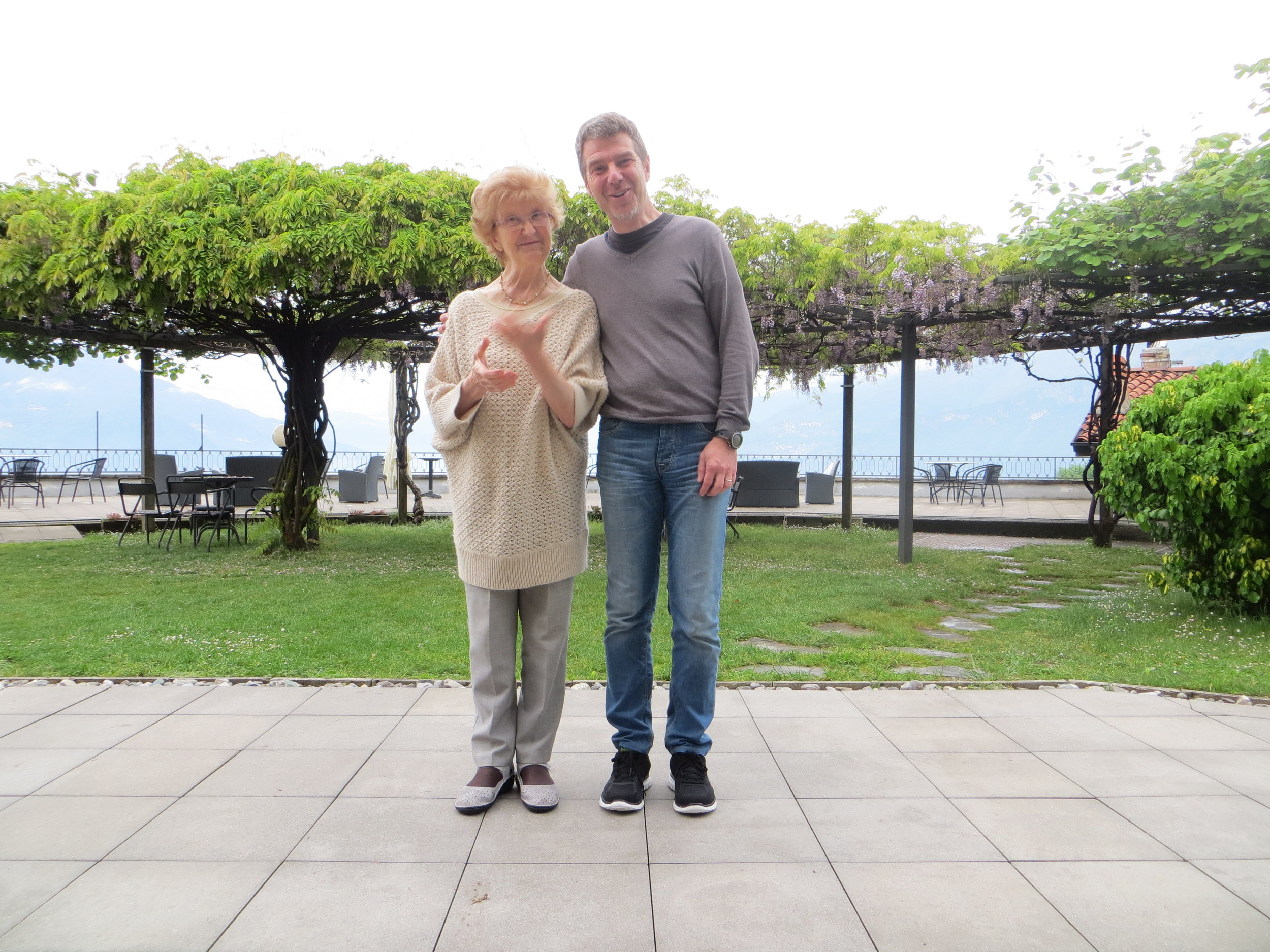 Owners Carlo and Nonna greet you with endless Italian hospitality.