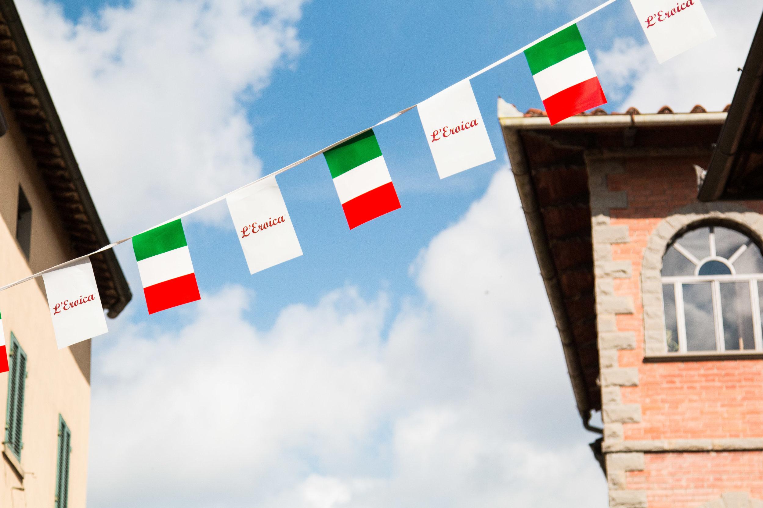 Gaiole in Chianti ready for L'Eroica