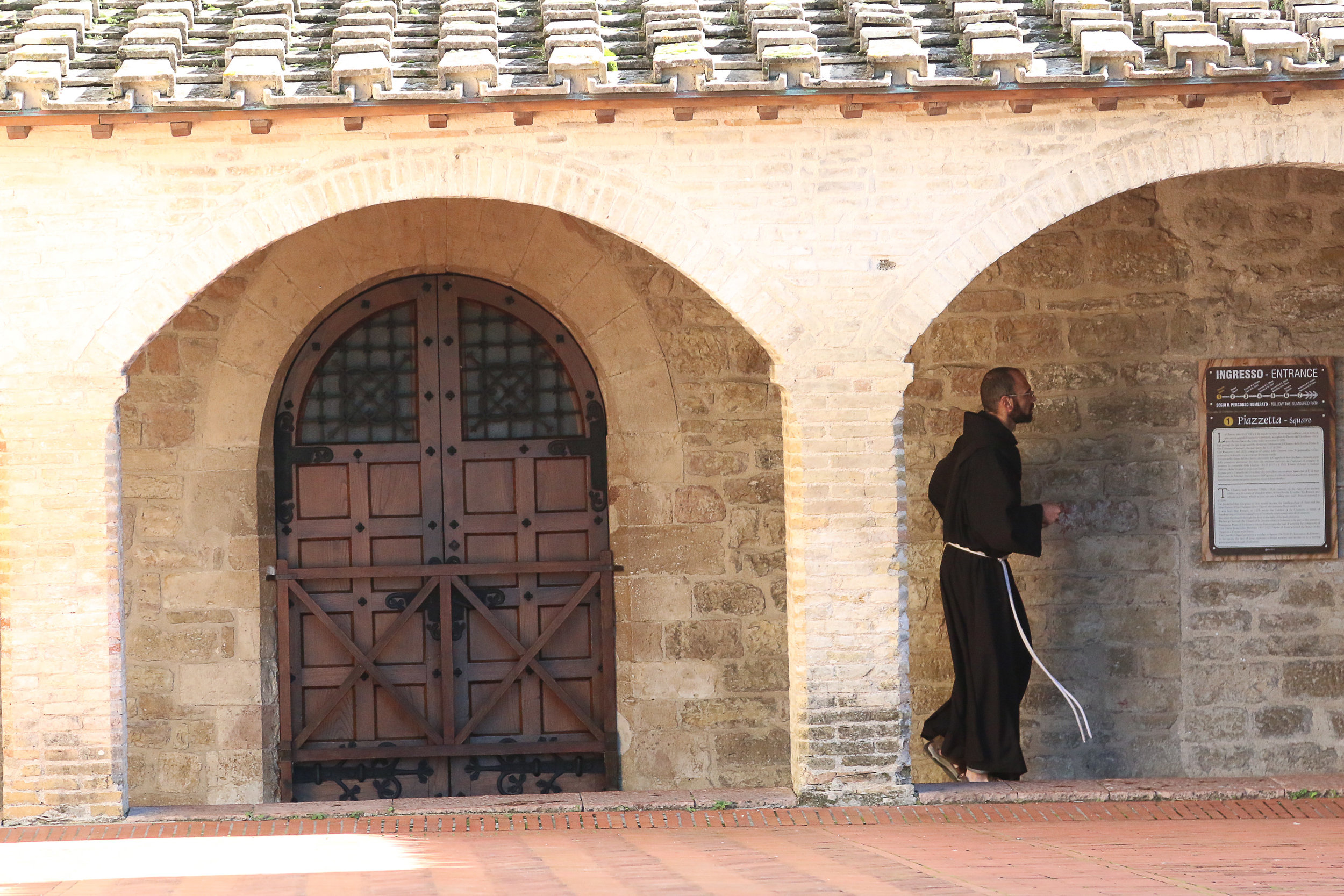 Friar at San Damiano