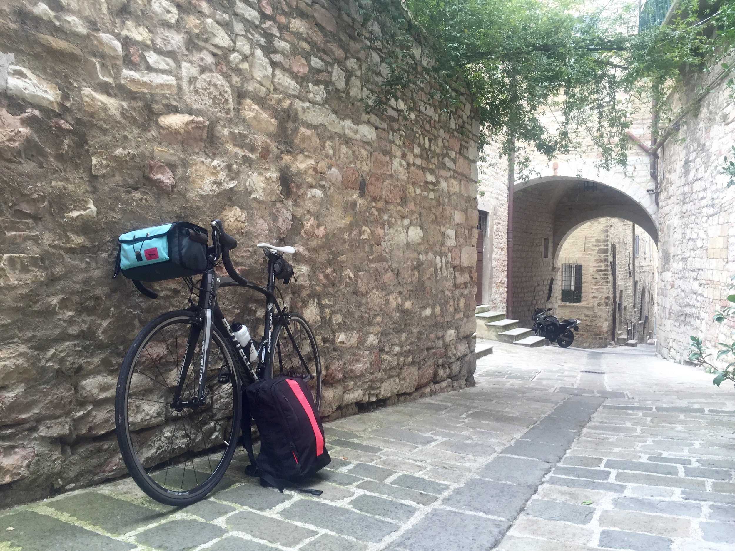 Packed and (sadly) leaving Assisi