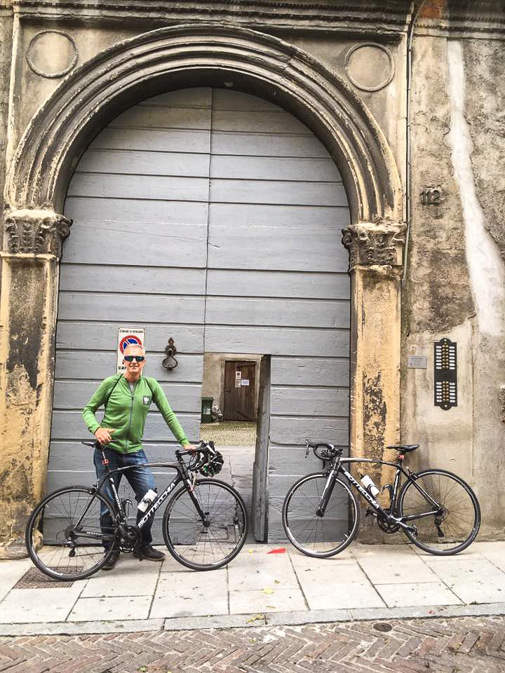 Sweet Bottecchia bikes from ComoLagoBike delivered to Bergamo.