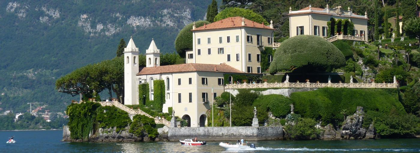 Villa Balbianello, photo courtesy Lake Como Travel