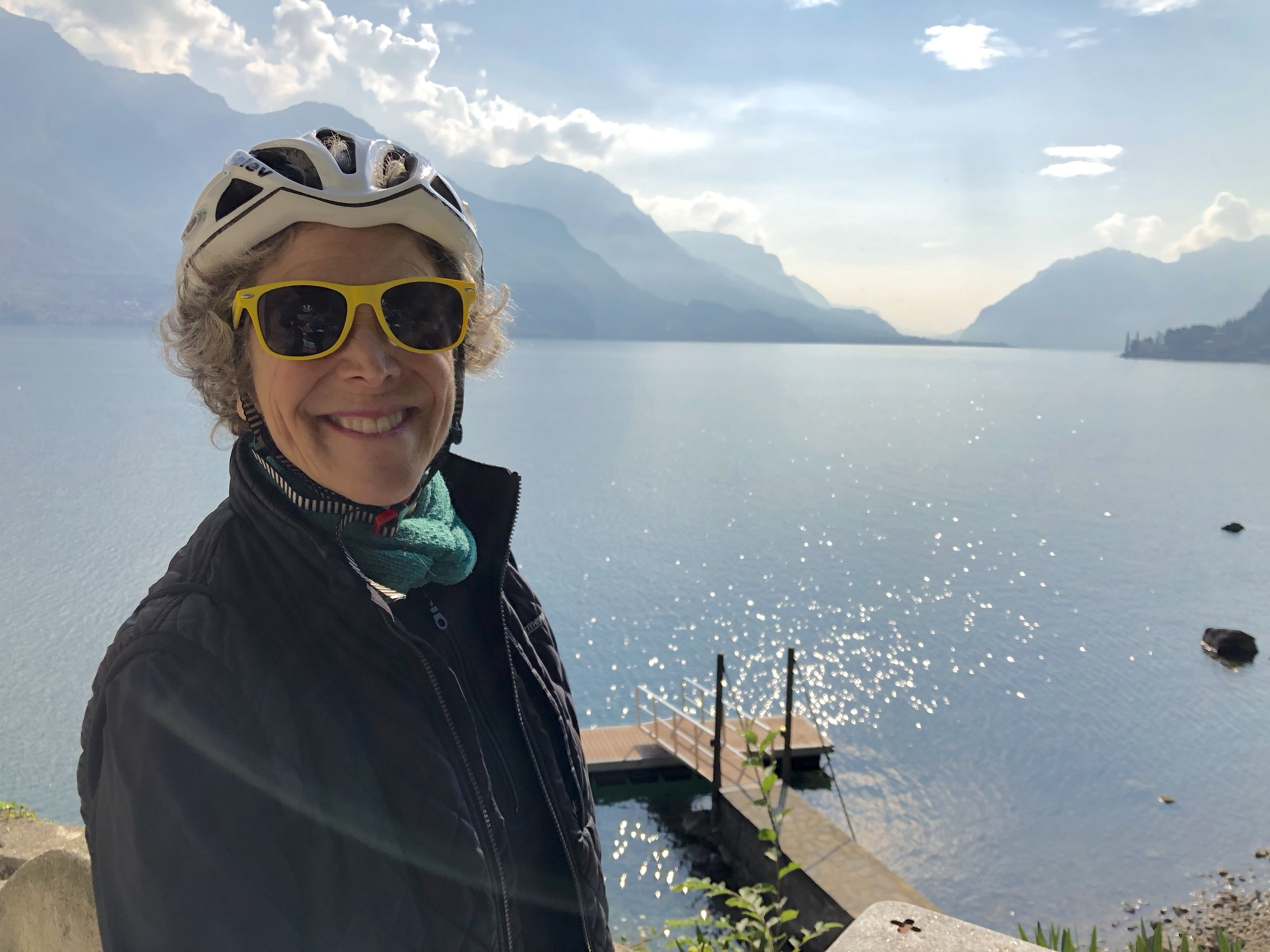 For the non-cyclist there are plenty of options, even a leisurely e-bike ride will take you to some of the most beautiful spots on the lake.
