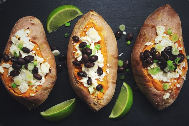 10 Healthy Spring Sides: Chipotle Sweet Potatoes