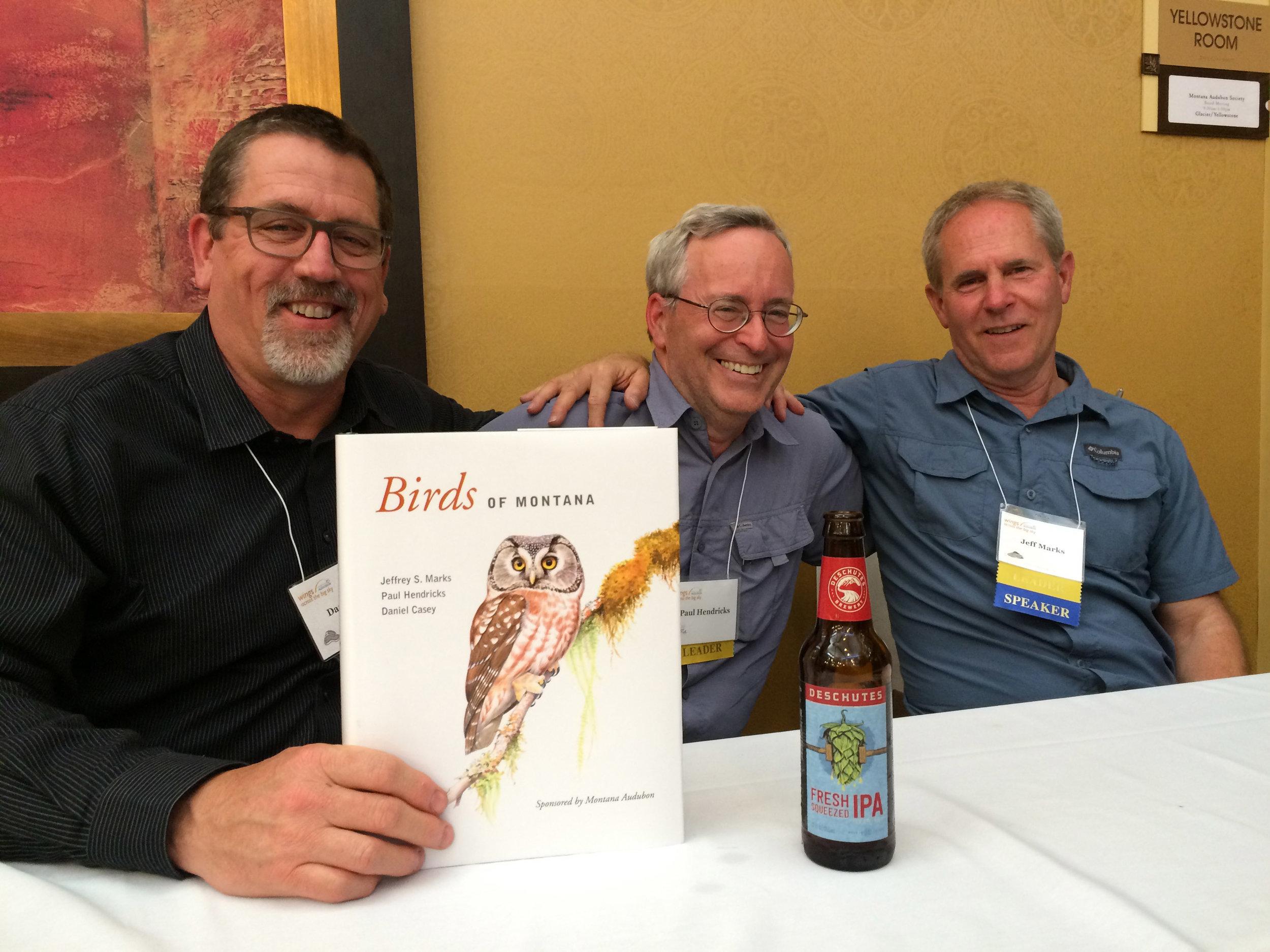Dan, Paul, and Jeff at book signing in Missoula, June 2016
